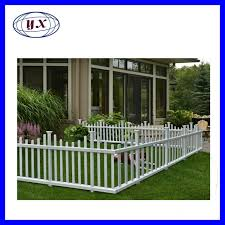 China Collections Etc Flexible White Picket Fence Border For Garden Landscape Edging White Photos Pictures Made In China Com