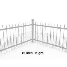 Wide Gap Fence Dog Barrier Kit Dog Proofer