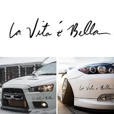 2020 4 Sizes Life Is So Beautiful La Vie Est Si Belle Car Sticker Auto Decal Car Accessories Ca 152 From Zhangchao188 0 37 Dhgate Com