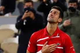 Novak Djokovic escapes five-set match with Stefanos Tsitsipas to reach  French Open final against Rafael Nadal - The Boston Globe