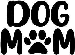 Amazon Com Dog Mom Pick Any Color Paw Print Vinyl Transfer Sticker Decal For Laptop Car Truck Window Bumper 5in X 3 7in Car Size Black Arts Crafts Sewing
