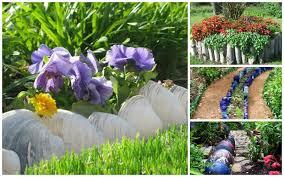 30 Brilliant Garden Edging Ideas You Can Do At Home Garden Lovers Club