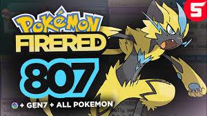 Pokemon FireRed 807 (Randomized): GBA Rom Hack With Mega Evolution ...