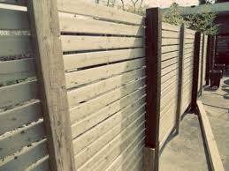 Modern Wood Fence Step 4 Progress Wood Fence Modern Wood Fence Modern Fence