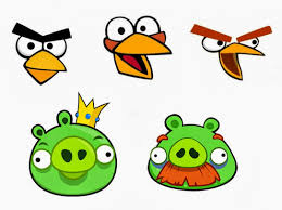 Esselle Crafts: Angry Birds Twister Game