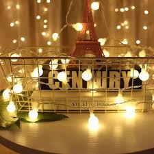 2020 Chúc Giáng Sinh Ấm Áp Đèn LED 50 LED Dây Đèn Bóng Tròn Trang Trí Giáng  Sinh cho Nhà Tiệc Cưới Đèn 5M - Aliexpress