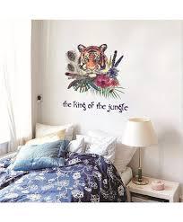 Clemson Tiger Wall Decal Vinyl Large White Design Giant Decor Daniel Neighborhood Woods Vamosrayos