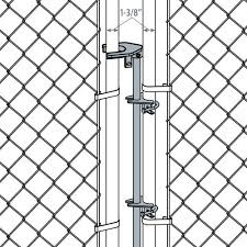 Galvanized Chain Link Fence Drop Latch Assembly At Menards