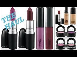 mac cosmetics haul superprincessjo