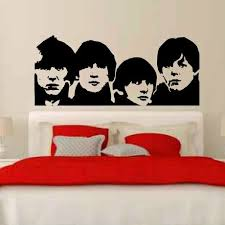 Oakwooddecals The Beatles Wall Decal Wayfair