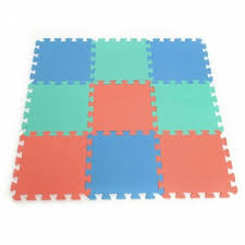 Exercise Puzzle Foam For Kids Room Floor Mat Sports Gym Yoga Area Carpet 9 Pcs Baby Nursery Mats Rugs