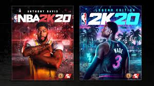 Wade Unveiled as Cover Stars for NBA® 2K20