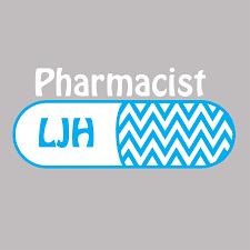 Item P219 Pharmacist Car Window Decal