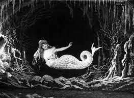 Georges Melies mermaid | George melies, Vintage mermaid, Mermaid