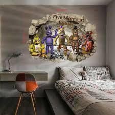 Fnaf Five Nights At Freddy S Wall Stickers Decal Art Decor Vinyl Mural 57x100cm