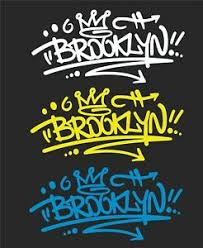 Brooklyn Graffiti Car Window Decal 2 For 1 Price Pick Your Size And Color Ebay