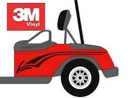 Swoop Golf Cart Decal 3m Vinyl Graphic Sticker Kit Ez Go Club Car Yamaha Hdk Gem Ebay