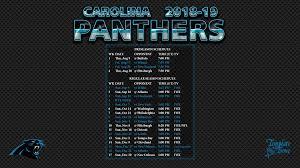 2019 carolina panthers wallpaper schedule