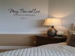Mercy Peace And Love Wall Decal Touch Of Beauty Designs Custom Wall Decals