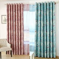 Sailing Era Kids Bedroom Curtains Noise Reduction Polyester Window Door Curtain Kitchen Living Room Valances With Grommet Jinya Curtains Aliexpress