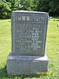 """Adalaide F. """"Addie"""" King Ellison (1852-1929) - Find A Grave Memorial"""