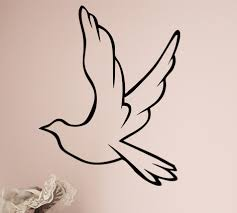 Dove Wall Decal Trading Phrases