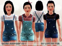 sims 3 clothes young