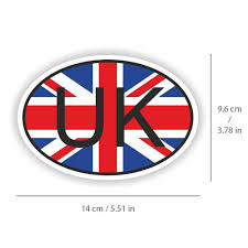 United Kingdom Flag Sticker Uk Country Code Decal Vinyl For Car Truck Bike Unbranded In 2020 Sport Team Logos Chicago Cubs Logo Team Logo