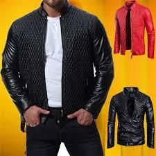 new men s genuine lambskin leather
