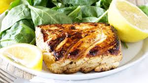 Grilled Halibut with Honey and Lemon ...