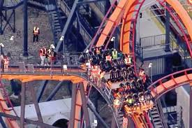 Passengers stuck on Six Flags roller coaster for more than 2 hours