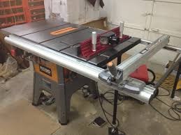 Ridgid Table Saw Fence Extension