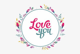 decorative flowers wreath love you quotes flowers flower