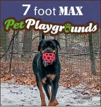Build Your Kit Pet Playgrounds Diy Dog Fence Kits
