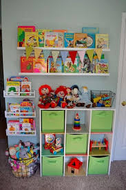 Small Space Organization A Toy Wall Kids Room Organization Toy Rooms Room Organization