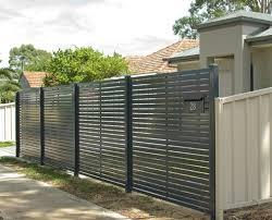 Aluminium Slat Gates Adelaide Complete Fencing Solutions