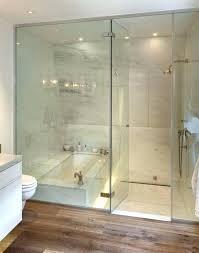 bath and shower ideas tiled tub combo