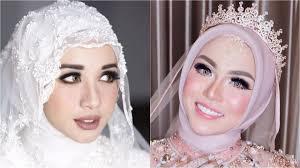 makeup pernikahan 5 selebriti hijab