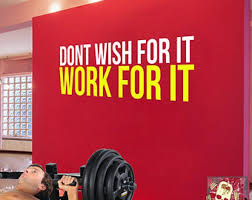 Self Respect Set Goals You Can Do This Wall Fitness Decal Quote Gym Kettlebell Crossfit Yoga Boxing Wall Art Home Gym Design Self Respect Office Wall Art