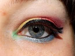 bright and colourful easter makeup tutorial