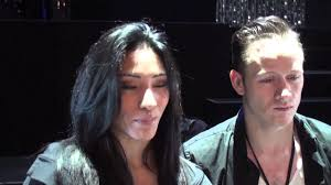 karen hauer and kevin clifton burn the
