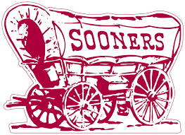 Oklahoma Sooners Wagon Logo Vinyl Decal Sticker 5 Sizes Sportz For Less