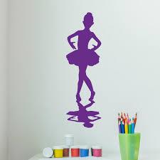 Little Ballerina Wall Decal Sticker Girl S Room Vinyl Wall Art Nurse Style And Apply