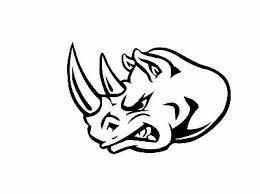 Rhinoceros Rhino Ebn969 Vinyl Decal Sticker Multiple Color Sizes Mobel Wohnen Wandtattoos Wandbilder