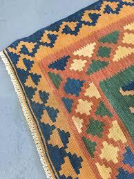 vintage afghan persian rug with