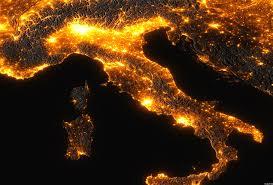 Inquinamento luminoso: l'Italia è il Paese più