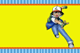Pokemon Invitaciones Para Imprimir Gratis Oh My Fiesta Friki