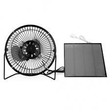 solar panel powered mini portable fan