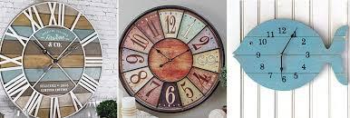 coastal wall clocks beach wall clocks
