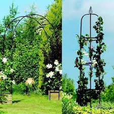 gardman 07701 easy garden obelisk steel